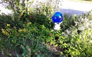 mozaic gazing ball